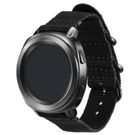 Samsung GP-R600BREECAA Nato Strap Gear Sport,Black