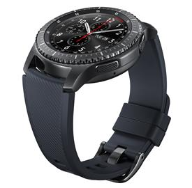 Samsung ET-YSU76MBEG Silicon Strap Gear S3, Black