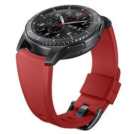Samsung ET-YSU76MREG Silicon Strap Gear S3, Red