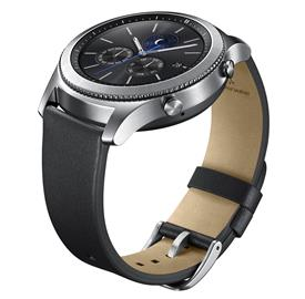 Samsung ET-YSL76MBEG Leather Strap Gear S3, Black