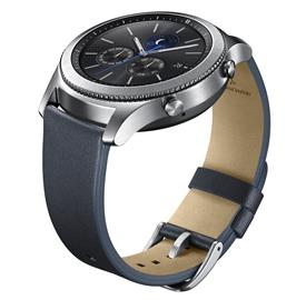 Samsung ET-YSL76MNEG Leather Strap Gear S3, Blue