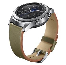 Samsung ET-YSL76MGEG Leather Strap Gear S3, Green