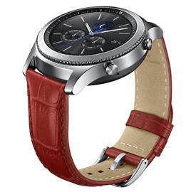 Samsung ET-YSA76MREG Leather Strap Gear S3, Red
