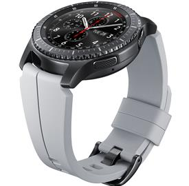 Samsung ET-YSI76MS Strap Special ed.Gear S3,Silver