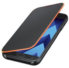 Samsung EF-FA320PBE Neon Flip Cover A3 2017, Black