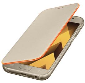 Samsung EF-FA320PFE Neon Flip Cover A3 2017, Gold