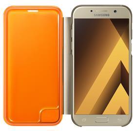 Samsung EF-FA520PFE Neon Flip Cover A5 2017, Gold