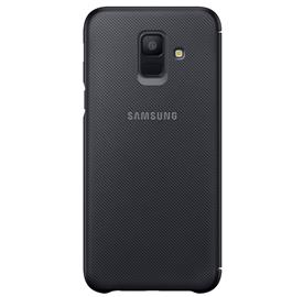 Samsung EF-WA600CB Wallet Cover Galaxy A6, Black