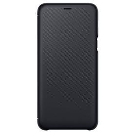 Samsung EF-WA605CB Wallet Cover Galaxy A6+, Black