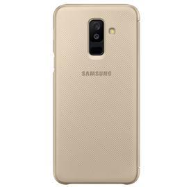 Samsung EF-WA605CF Wallet Cover Galaxy A6+, Gold