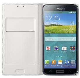 Samsung EF-WG900BW Flip s kapsou Galaxy S5, White