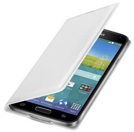 Samsung EF-WG900BH Flip s kapsou Galaxy S5, White