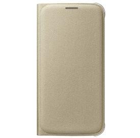 Samsung EF-WG920BF Flip Fabric Galaxy S6, Gold