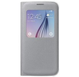 Samsung EF-CG920BS Flip S-View Fabric S6, Silver
