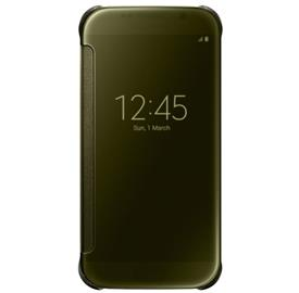 Samsung EF-ZG920BF Flip Clear View Galaxy S6, Gold