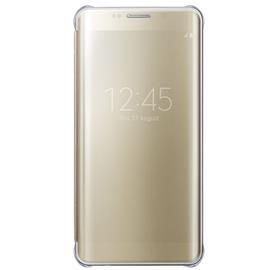 Samsung EF-ZG928CF Flip Clear View S6 Edge+, Gold