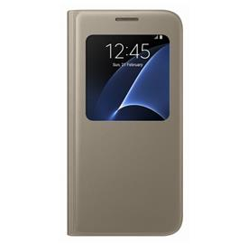 Samsung EF-CG930PF Flip S-View Galaxy S7, Gold