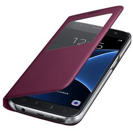 Samsung EF-CG930PX Flip S-View Galaxy S7, Wine