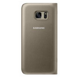 Samsung EF-NG930PF LED View Cover Galaxy S7, Gold