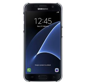 Samsung EF-QG930CB Clear Cover Galaxy S7, Black