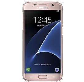 Samsung EF-QG930CZ Clear Cover Galaxy S7, Pink