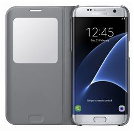 Samsung EF-CG935PS Flip S-View Galaxy S7e, Silver