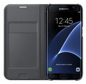 Samsung EF-WG935PB Flip Wallet Galaxy S7e, Black