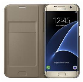 Samsung EF-WG935PF Flip Wallet Galaxy S7e, Gold