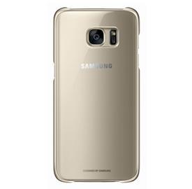 Samsung EF-QG935CF Clear Cover Galaxy S7e, Gold
