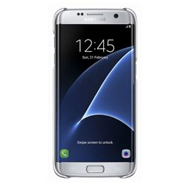 Samsung EF-QG935CS Clear Cover Galaxy S7e, Silver