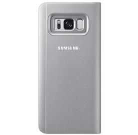 Samsung EF-ZG950CS Flip Clear View Galaxy S8,Silve