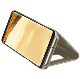 Samsung EF-ZG950CF Flip Clear View Galaxy S8, Gold