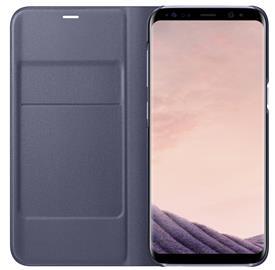 Samsung EF-NG950PV LED View Cover Galaxy S8,Violet