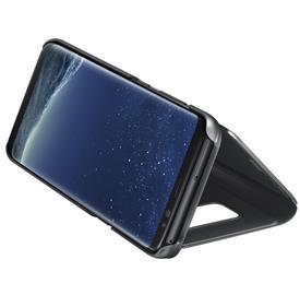 Samsung EF-ZG955CB Flip Clear View Galaxy S8+,Blac