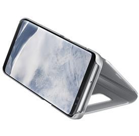 Samsung EF-ZG955CS Flip Clear View Galaxy S8+,Silv