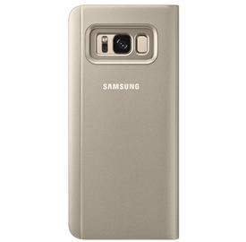 Samsung EF-ZG955CF Flip Clear View Galaxy S8+,Gold
