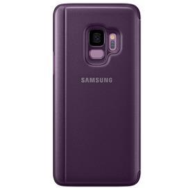 Samsung EF-ZG960CV Flip Clear View Galaxy S9,Purpl