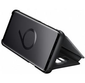 Samsung EF-ZG965CB Flip Clear View Galaxy S9+,Blac