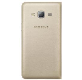Samsung EF-WJ320PF Flip pouzdro Galaxy J3, Gold