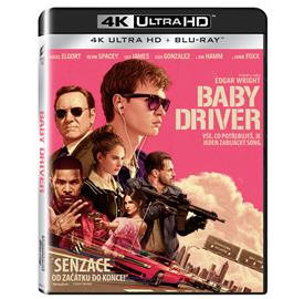 Baby Driver - 4K UHD Blu-ray disk