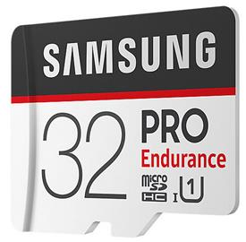 Samsung 32GB microSDHC PRO Endurance + SD adaptér
