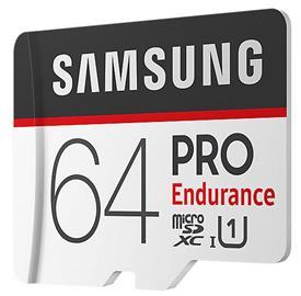 Samsung 64GB microSDHC PRO Endurance + SD adaptér