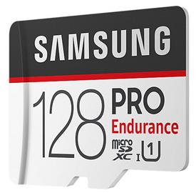 Samsung 128GB microSDHC PRO Endurance + SD adaptér