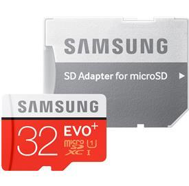 Samsung 32GB microSDHC EVO Plus + SDadaptér 95Mb/s