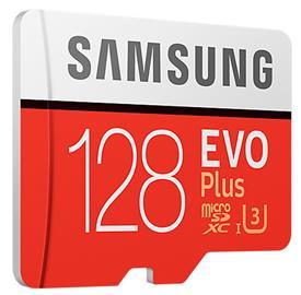 Samsung 128GB microSDHC EVO Plus + SD adaptér