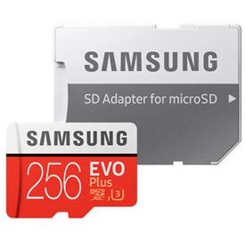Samsung 256GB microSDXC EVO Plus + MB-MC256GA/EU