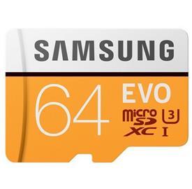 Samsung 64GB microSDHC EVO + SDadaptér 95Mb/s