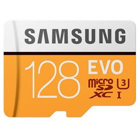 Samsung 128GB microSDHC EVO + SDadaptér 95Mb/s